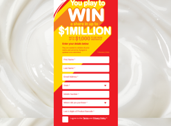 Win a share in up to $1 Million!