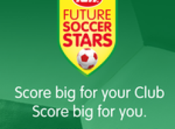 Win a share of $100,000 in instant prizes for yourself.  Plus a share of $150,000 in grants for your local soccer club