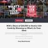 Win a Share of $25,000 in Stratco Gift Cards
