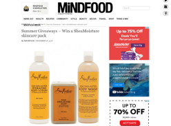 Win a SheaMoisture skincare pack