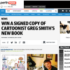Win a signed copy of Smithy: A Decade of Drawing a Fine Line