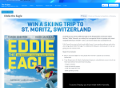 Win a skiing trip to St. Moritz, Switzerland!