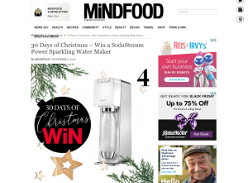 Win a SodaStream Power Sparkling Water Maker