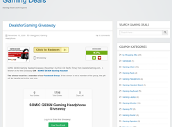 Win a Somic G936N Gaming Headset