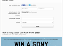 Win a Sony Action Cam Pack worth $655!