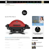 Win a Specialist Weber Baby Q