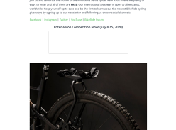 Win a Spider Rear Rack for Bicycles