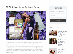 Win a Spring Wellness Package!