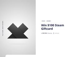 Win a Steam Gift Card with Xplayn