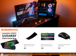 Win a SteelSeries Peripheral Pack Worth Over $530