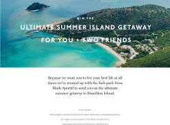 Win a Summer Getaway to Hamilton Island for 3