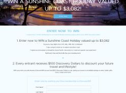 Win a Sunshine Coast Holiday!