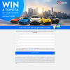 Win a Toyota of your choice