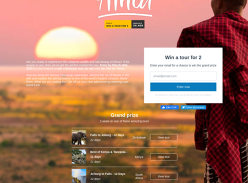 Win a Trip for 2 to Africa up to £3,200