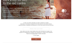 Win a Trip for 2 to Australia's Red Centre