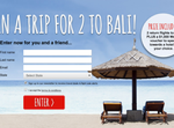 Win a trip for 2 to Bali + a $1,000 Webjet voucher!