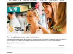 Win a Trip for 2 to Europe