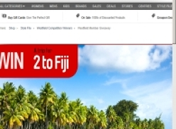 Win a Trip for 2 to Fiji