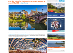 Win a Trip for 2 to Germany