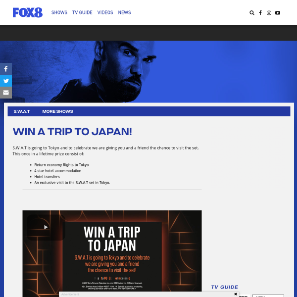 Win a Trip for 2 to Japan