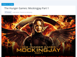 Win a trip for 2 to LA to attend the premiere of 'The Hunger Games: Mockingjay Part 1'!
