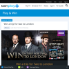 Win a trip for 2 to London + 1 of 20 copies of 'Ripper Street' on DVD!