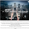 Win a trip for 2 to Melbourne & $1,000 spending money!