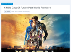 Win a trip for 2 to New York to attend the 'X-Men Days of Future Pass' world premiere!