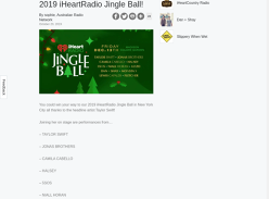 Win a trip for 2 to NYC for our 2019 Jingle Ball!