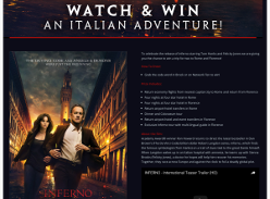 Win a trip for 2 to Rome & Florence!