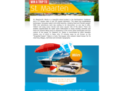 Win a trip for 2 to St. Maarten!