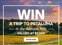 Win a trip for 2 to the Adelaide Hills!