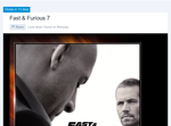 Win a trip for 2 to the 'Fast & Furious 7' premiere in Abu Dhabi!