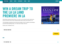 Win a trip for 2 to the 'La La Land' premiere in LA!