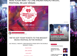 Win a trip for 2 to the Music Festival in Las Vegas!