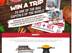 Win a Trip for 2 to the USA
