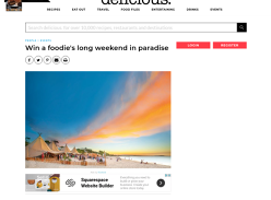 Win a trip for two to Noosa for Food and Wine Festival in May