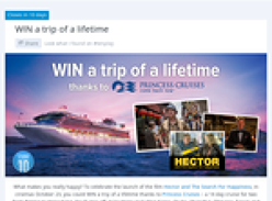 Win a trip of a lifetime thanks to Princess Cruises!