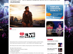 Win a trip to iHeartRadio LIVE with Jennifer Hudson! (Excludes WA, TAS & NT Residents)