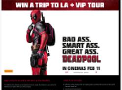 Win a trip to LA + VIP Tour!