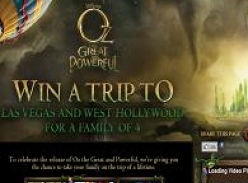 Win a trip to Las Vegas and West Hollywood for a family of 4