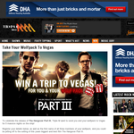 Win a trip to Las Vegas for you & your wolf pack!