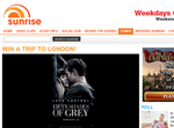 Win a trip to London for the 'Fifty Shades of Grey' premiere!