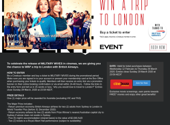 Win a trip to London with British Airways!