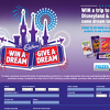 Win a trip to magical Disneyland & give the same gift to a friend!