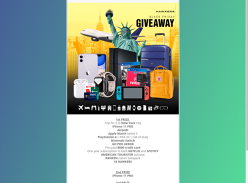 Win a Trip to New York & Tech Prize Pack