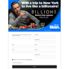 Win a Trip to New York to live like a billionaire