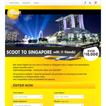 Win a trip to Singapore for you & 11 friends!