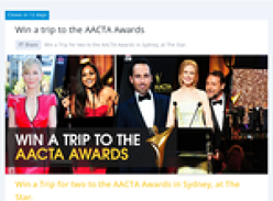 Win a trip to Sydney for the AACTA Awards!