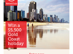 Win a trip to the Gold Coast